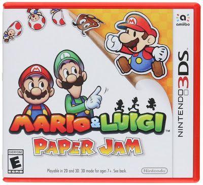 emagge-emagge: Mario & Luigi: Paper Jam - Nintendo 3DS