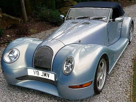 Its a Vintage Morgan. Awesome car!