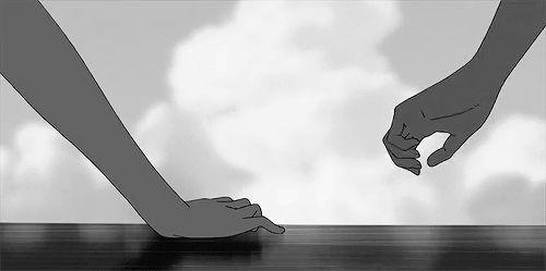 """Ne croyez pas une histoire d'amour sulfureuse … C'est seulement le """"plaisir des yeux"""". J'avais vu ces deux photos et je trouvais qu'elles étaient complémentaires."""