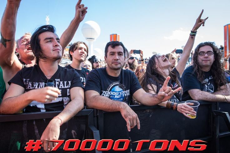 Betchya wish this was you today!   #70000tons #metalcruise