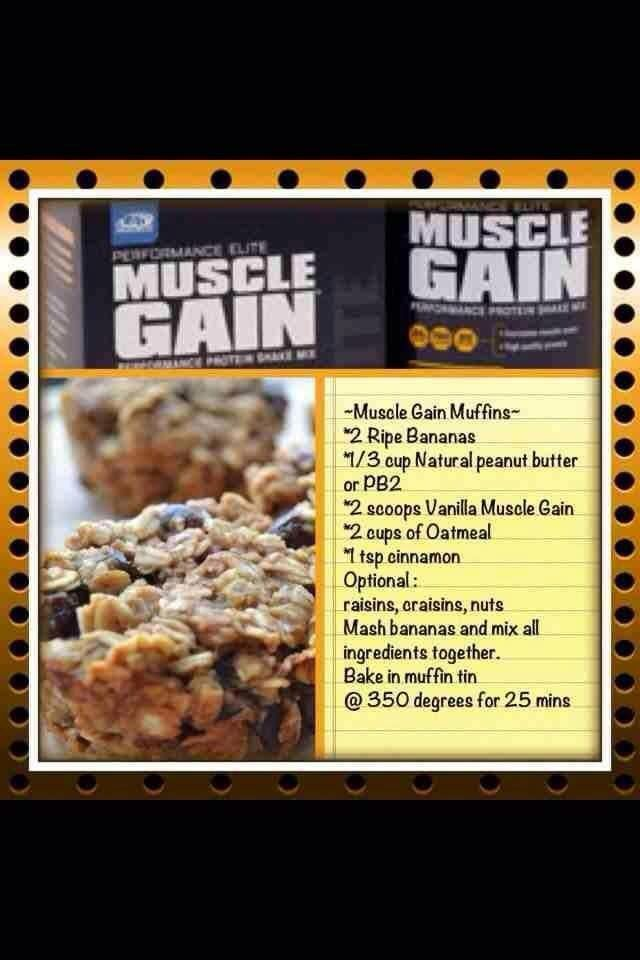Muscle Gain Muffins!