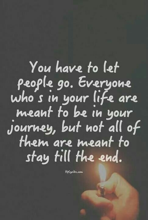 Letting go The Journey, Meant To Be, Quotes On Friendship, Losing Friendship, Life, Losing A Friend Quote, So True, Endi...