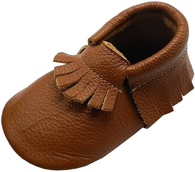 Baby Tassel Soft Leather Shoes boys