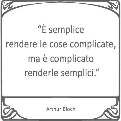 Come stai complicando tutto? http://storiedicoaching.com/2013/06/23/come-stai-complicando-tutto/ #coaching #semplice #complicato