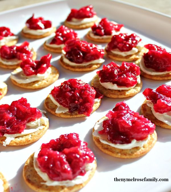 Cranberry Party Appetizer