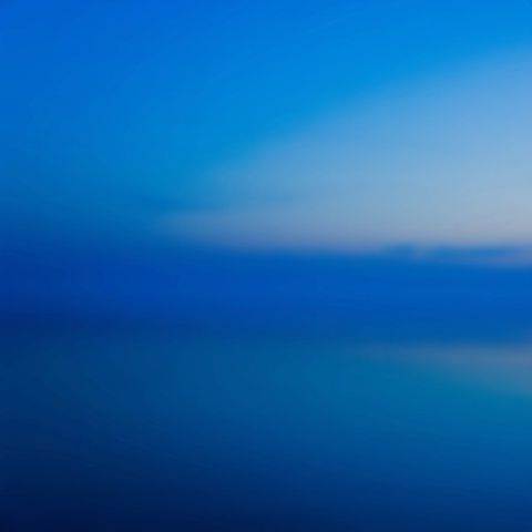 Miya Ando, Morning Copenhagen, 2014 at www.meadcarney.com  #MiyaAndo #MeadCarney #London #art #artgallery #Photography #morning #Copenhagen #blue