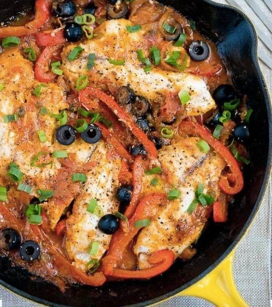 30 minute meals baked tilapia veracruz