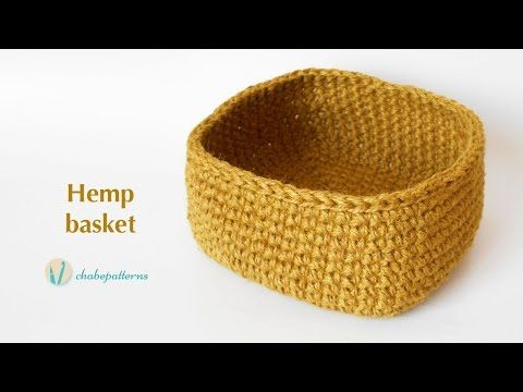 Hemp basket - YouTube
