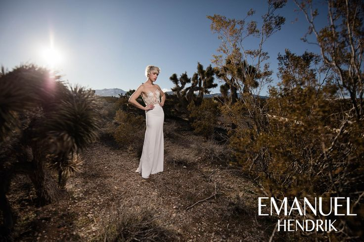 EMANUEL HENDRIK | Body: Hotness | Rock: Mila | Brautkleid - Wedding Dress - Wedding Chapels - Bride - Braut / Fotoshooting / Las Vegas - Nevada - Wüste - Desert / Body - Spitze - Lace - Tüll - Tulle - Maxirock - Rock - Chiffon / Bridal Couture - Fashion - Style - Outfit