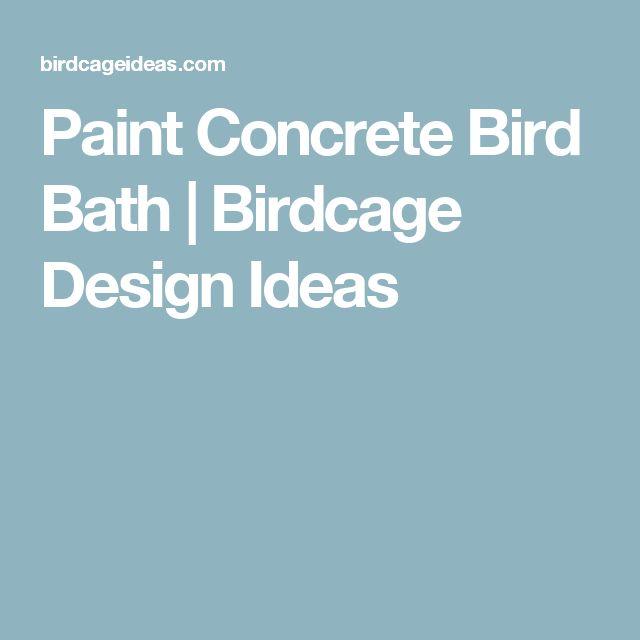 Best 20+ Concrete bird bath ideas on Pinterest   Concrete ...