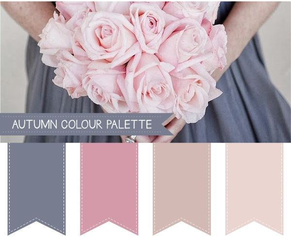 Autumn Wedding Colour Palettes For more insipiration visit us at https://facebook.com/theweddingcompanyni or http://www.theweddingcompany.ie