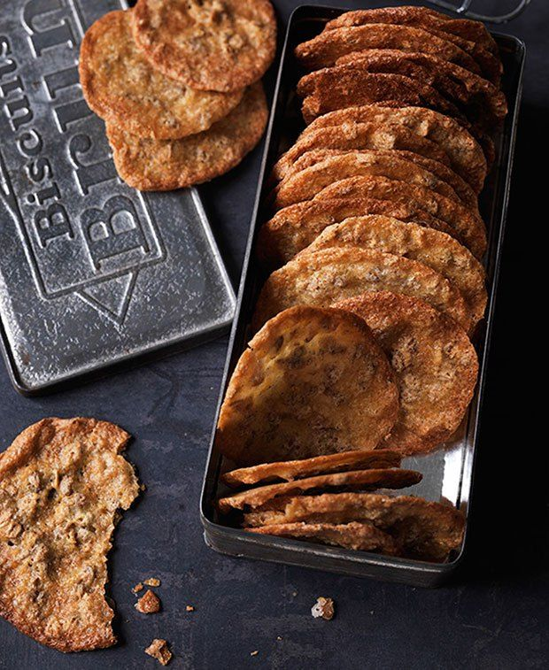 Rye and Orange Cookies from Scandinavian Baking: Sweet and Savory Cakes and Bakes, for Bright Days and Cozy Nights, by Trine Hahnemann