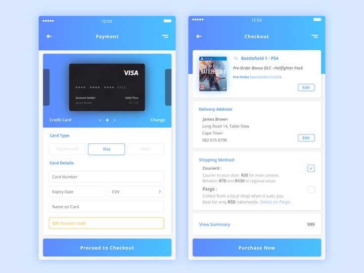 Dribbble daily ui 002 credit card payment  x3