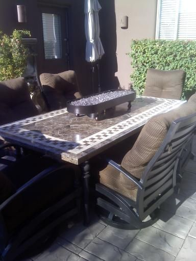 Custom Fire Pit Tables