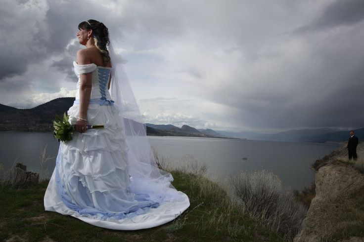 Erin Esser's custom ordered gown