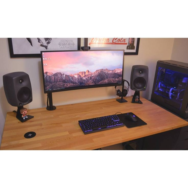 An awesome ultrawide setup. Bu Redditor ZombieMorg. - - Check out the link in my bio! - Tag a friend who might like this page! - DM or Kik me your setup to be featured! #setup #dreamsetup #workstation #battlestation #workspace #pcgaming #deskspace #desksetup #gaming #game #gamer #gamingsetup #pc #pcmasterrace #computer #technology #clean #pcgaming101 #apple #interiordesign #dreamroom #style #goodvibes #instagood #design #trademarkedsetups #f4f #pcgaminghub #intel #nvidia
