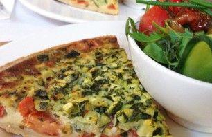 Recept voor een quiche met tomaat en courgette | Vers van de Teler