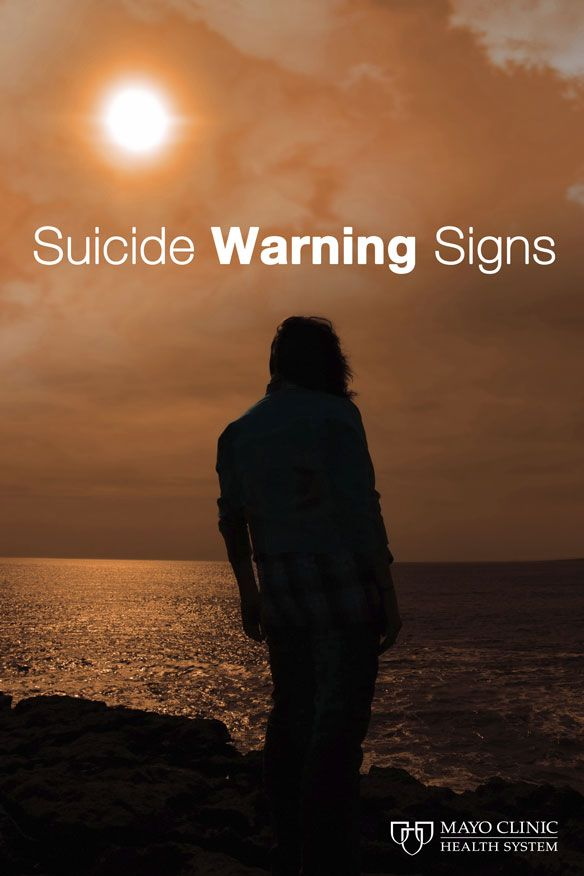 The warning signs that people should be aware of to help a friend who contemplates suicide