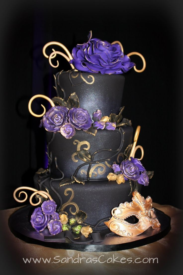 Best 25+ Masquerade cakes ideas only on Pinterest | Masquerade ...
