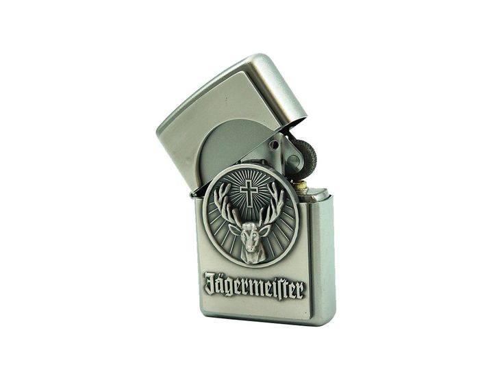 Buy Zippo Jagermeister at price of £44.00 at wegetpersonal.co.uk. Zippo Jagermeister emblem logo. Choose your own engraving for the backside. Delivered without fuel.Visit We Get Personal to order your lighter today. Source: http://www.wegetpersonal.co.uk/zippo-jagermeister.html #personalisedzippo #engravedzippo #ZippoJagermeister