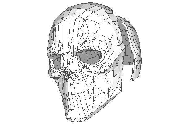 Dc Comics Life Size Black Mask S Helmet Free Papercraft