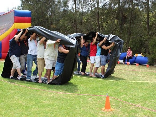 The best team building activity is the Mini Olympics from Team Bonding