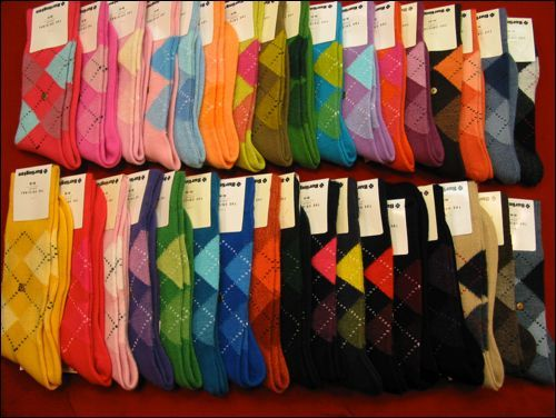 La mode des chaussettes Burlington