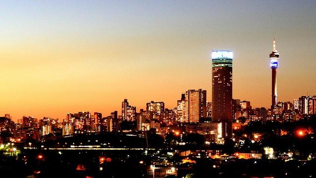 Ponte Tower in the Johannesburg skyline