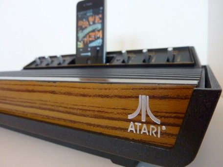 Atari 2600 turned into an iPhone speaker dock