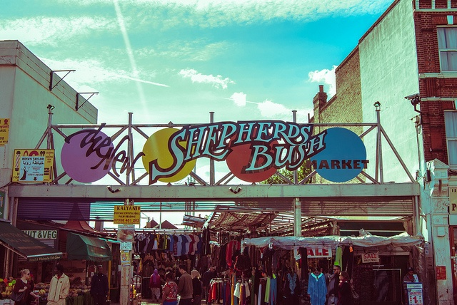 Shepherds Bush Market by Marta Panetto Twcci