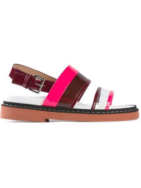 Marni сандалии с ремешками в Eraldo