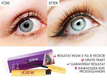 Få långa fransar på kort tid! Ett unikt och effektivt serum som ger längre, mörkare och fylligare ögonfransar inom 3-8 veckor. ✅ Appliceras på ögonfransroten varje kväll, på samma sätt som en eyeliner. Kan också användas på ögonbrynen.  ✅ Kliniskt testat och EU-godkänt serum. Innehåller näringsberikande ingredienser som ökar tillväxten av nya ögonfransar..
