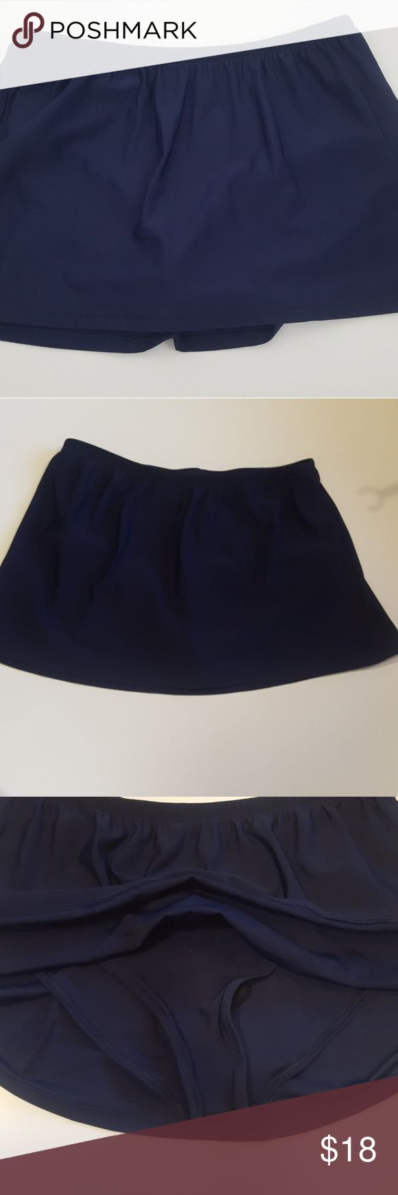 Sports Skirt Delta Burke Workout/Tennis Skirt (16) Sports Skirt by Delta Burke Workout / Tennis Skirt  (16) Navy Blue Delta Burk Skirts Mini