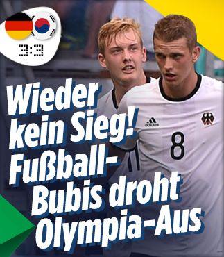 Fußball-Bubis droht das Olympia-Aus