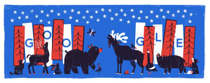 Fourth of July Google Doodle #IndependenceDay #Americabirthday #FourthofJuly2017 #FourthOfJuly checkout the video https://youtu.be/NYE0CXa2hYs