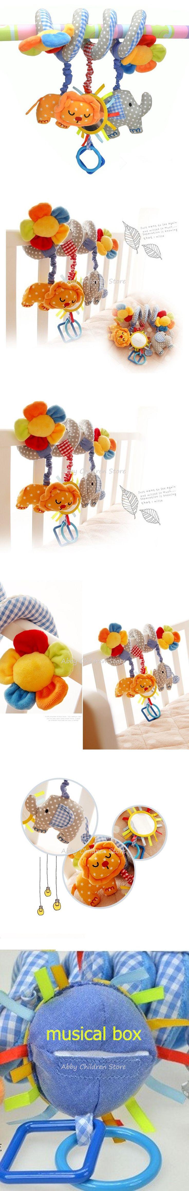 1x Star Baby Activity Spiral Stroller Pram Crib Bed Musical Toy