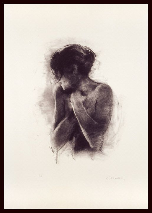 Charlie Mackesy | Antonia |  Limited Edition Signed Lithograph|  74 x 43 cm | £900 (unframed)