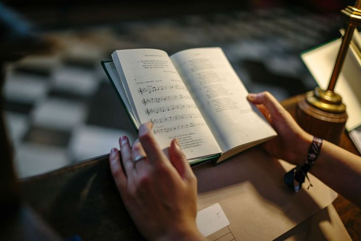 Studying music at University College Oxford…