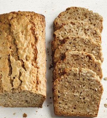 Pan de manzana y avena. Adaptar la receta porque no es del todo sana