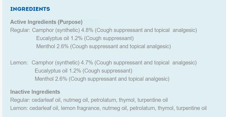 Vicks Vapor Rub Ingredients + Homemade