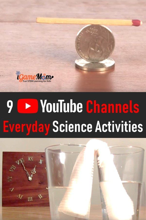 9 Youtube Channels Of Science Videos Of Experiments You Can Do At Home In 2021 Middle School Science Experiments Everyday Science Cool Science Experiments