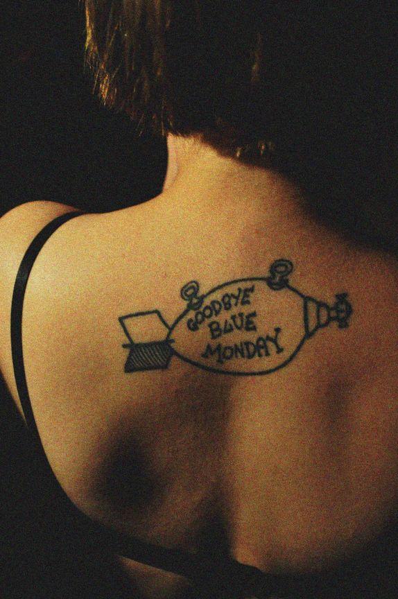 Goodbye Blue Monday - Contrariwise: Literary Tattoos