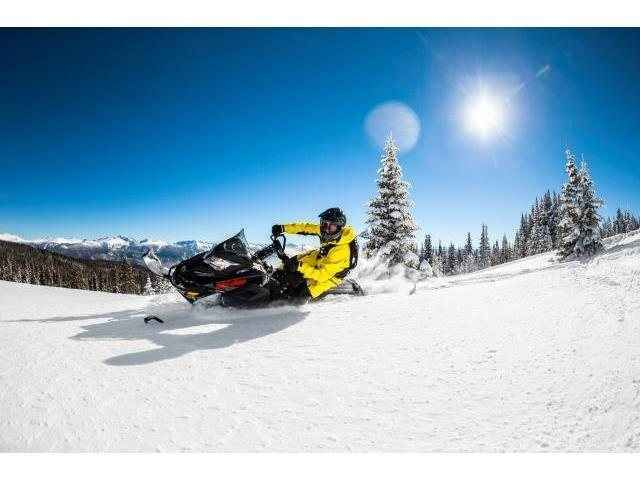"""Used 2016 Ski-Doo Summit SP 146 600 H.O. E-TEC E.S., PowderMax 2.5"""" Snowmobile For Sale in Wisconsin,WI. More fun with less effort. The ability to go places you never thought. Carving lines through trees your buddies have second thoughts about. It's all yours when you reach for a 2016 Summit SP snowmobile. No matter which engine you choose, you get all the benefits of E-TEC technology and the most specialized mountain sled out there: the REV-XM."""