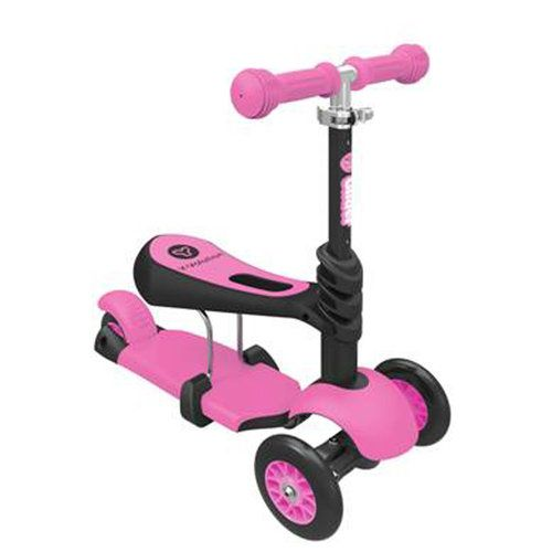 Y Glider 3 in 1 Scooter - Pink