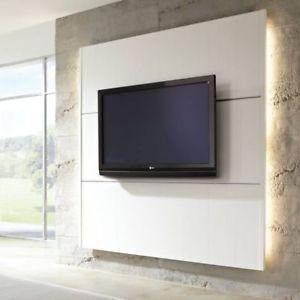 elesgo hdm cinewall wohnwand tv lcd plasma fernsehwand inkl 2 uni clips - Design Fernsehwnde