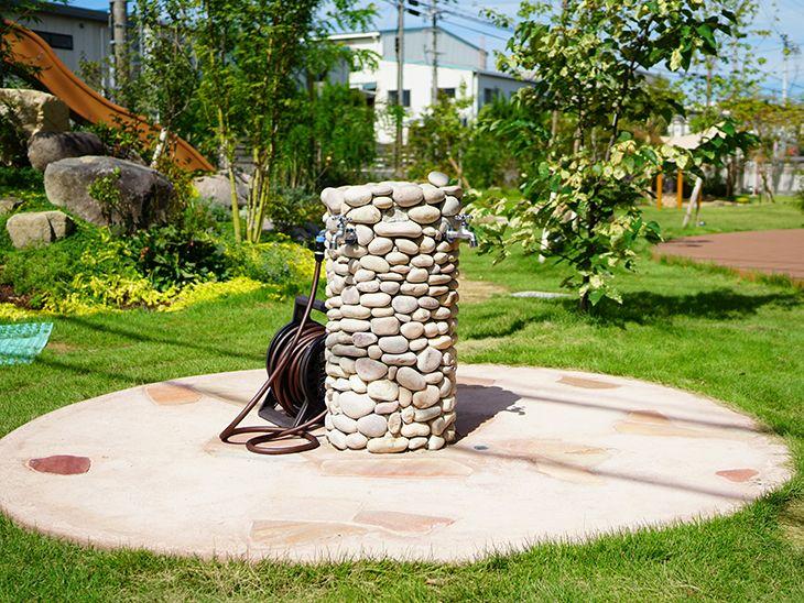 遊び心と冒険心を育てる こども園のお庭 お庭 庭 庭 リフォーム