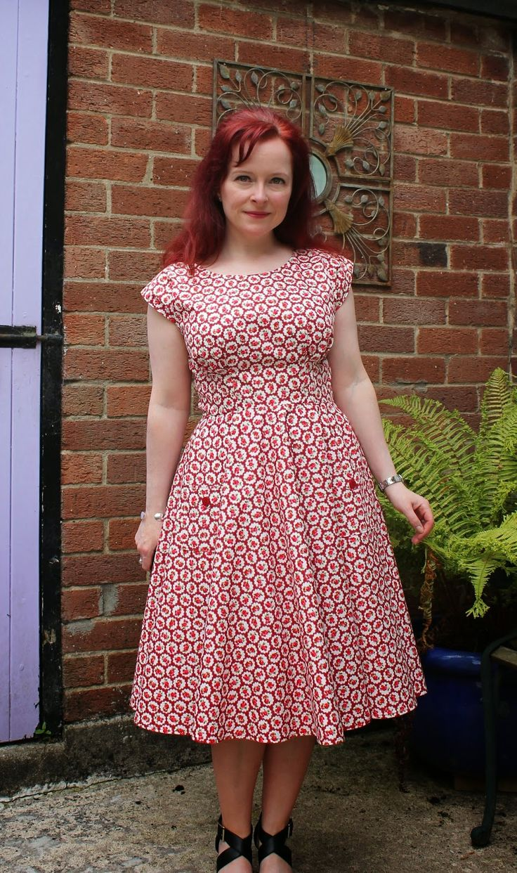 Anna and the circle skirt - the dress that nearly wasn't