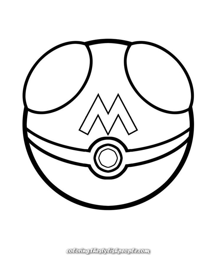 Pokemon Balls Coloring Pages By Means Of Hundreds Of On Line