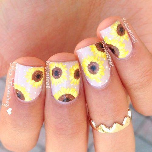 nails.quenalbertini: Trendy Nail Design for Short Nails by just1nail | Glaminati