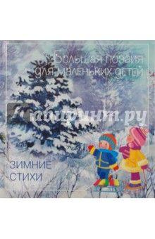Зимние стихи обложка книги